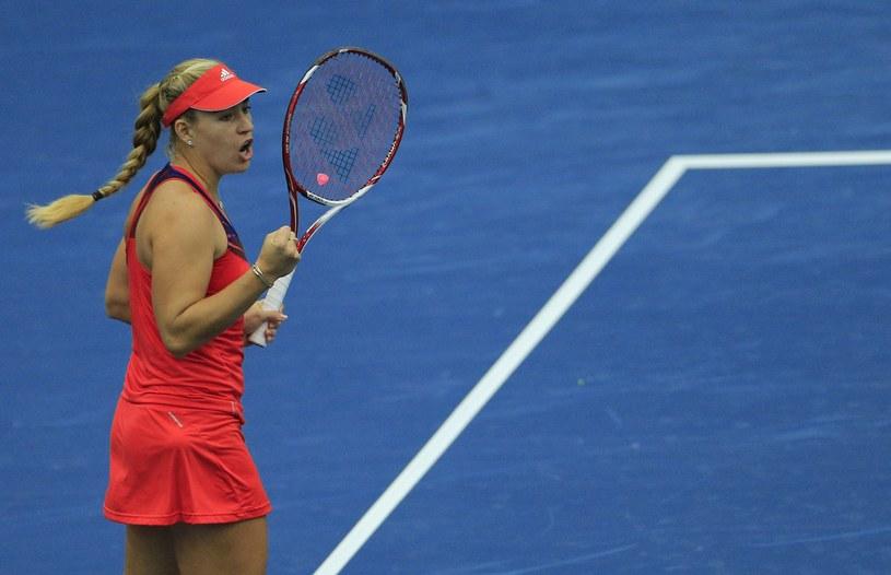 Niemiecka tenisistka o polskich korzeniach Angelique Kerber /AFP