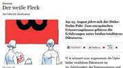 Niemiecki dziennik przypomina o pakcie Ribbentrop-Mołotow