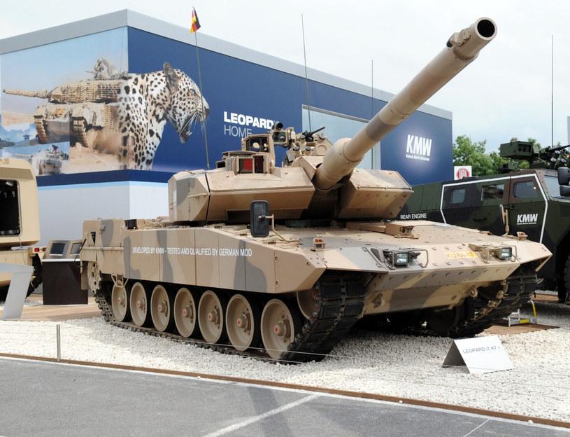 Niemiecki Leopard 2 A7 /AFP