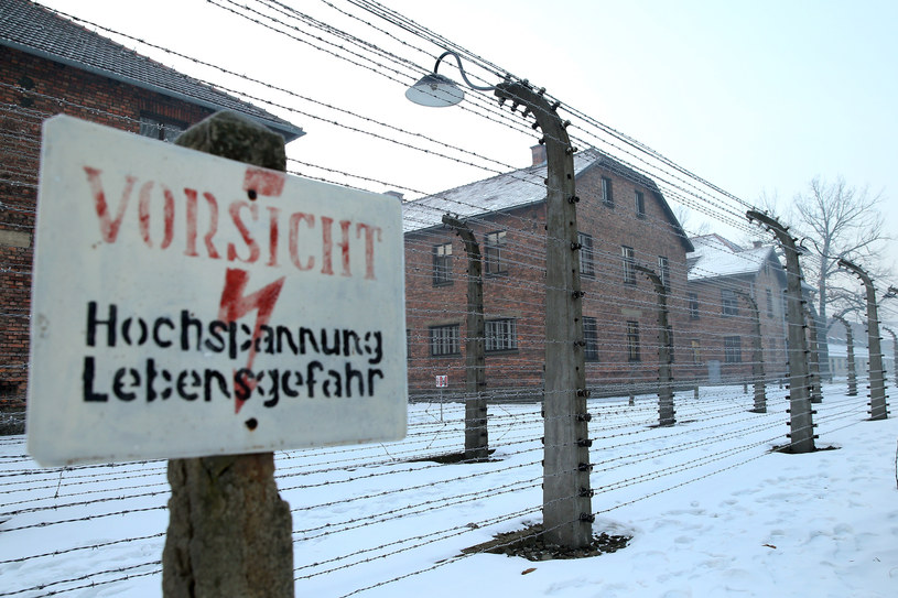Niemiecki nazistowski obóz koncentracyjny Auschwitz /Damian Klamka /Reporter