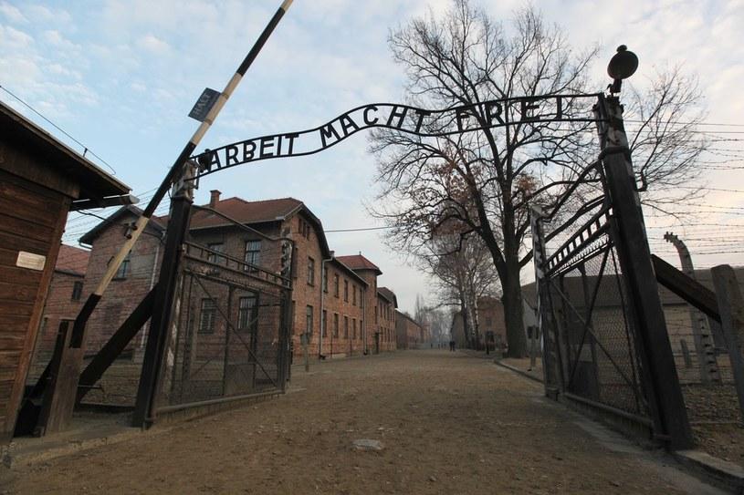 Niemiecki obóz pracy w Auschwitz /East News