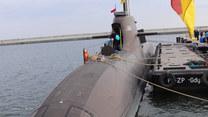 Niemiecki okręt podwodny z wizytą w Polsce