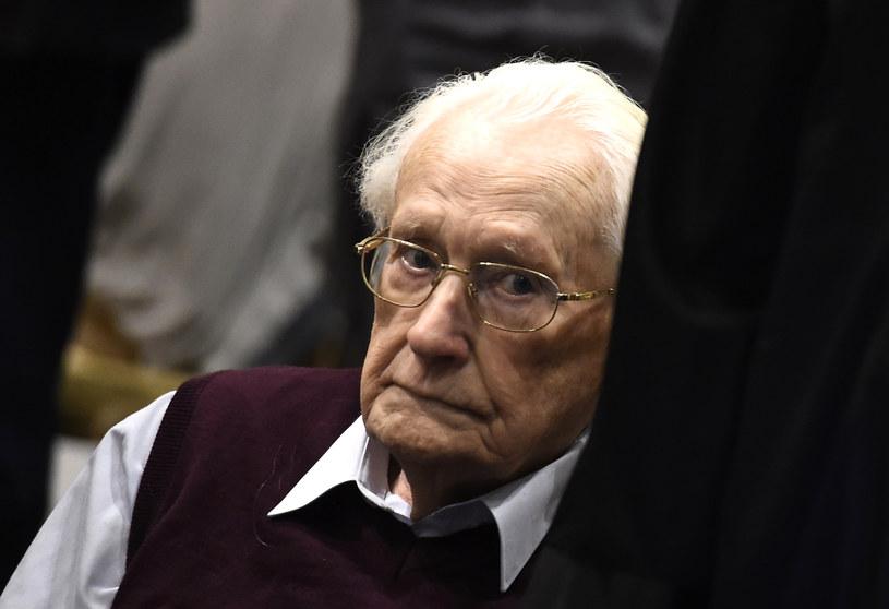 Niemiecki Trybunał Konstytucyjny odrzucił odwołanie byłego strażnika z niemieckiego nazistowskiego obozu zagłady Auschwitz-Birkenau Oskara Groeninga /TOBIAS SCHWARZ /AFP