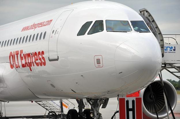 Niemieckie linie lotnicze OLT Express złożyły wniosek o upadłość /fot. Wojciech Strozyk /Reporter