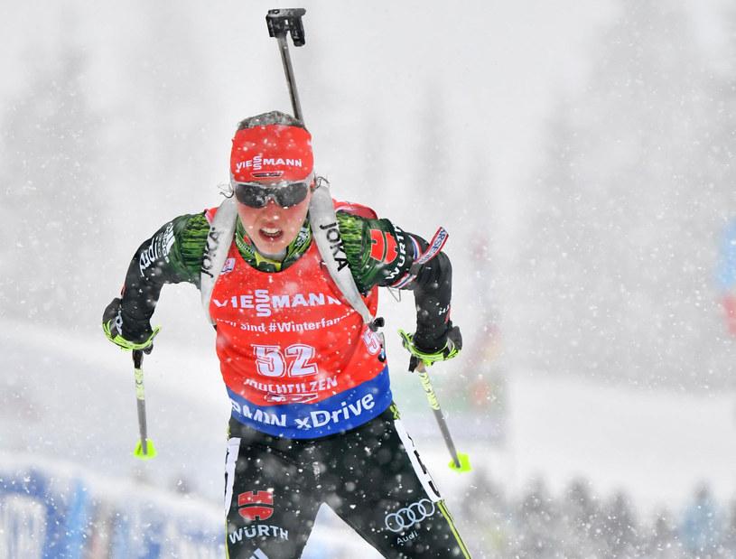 Niemka Laura Dahlmeier /AFP
