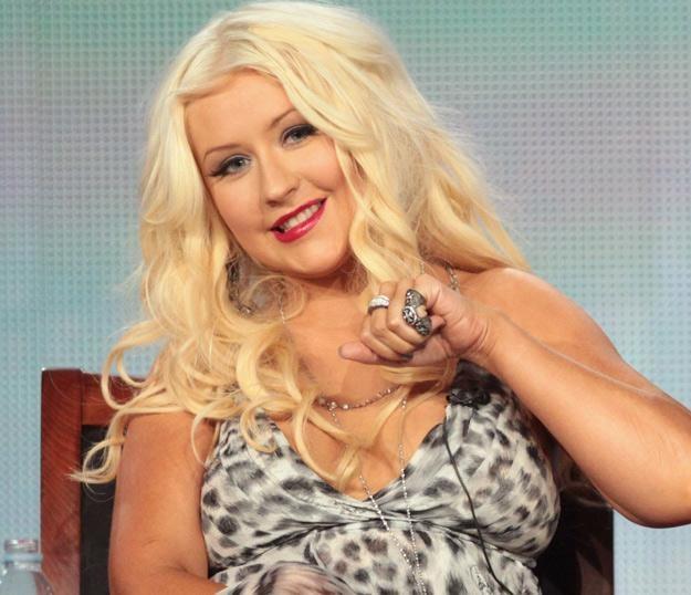 Nienachalnie szczupła Christina Aguilera - fot. Frederick M. Brown /Getty Images/Flash Press Media