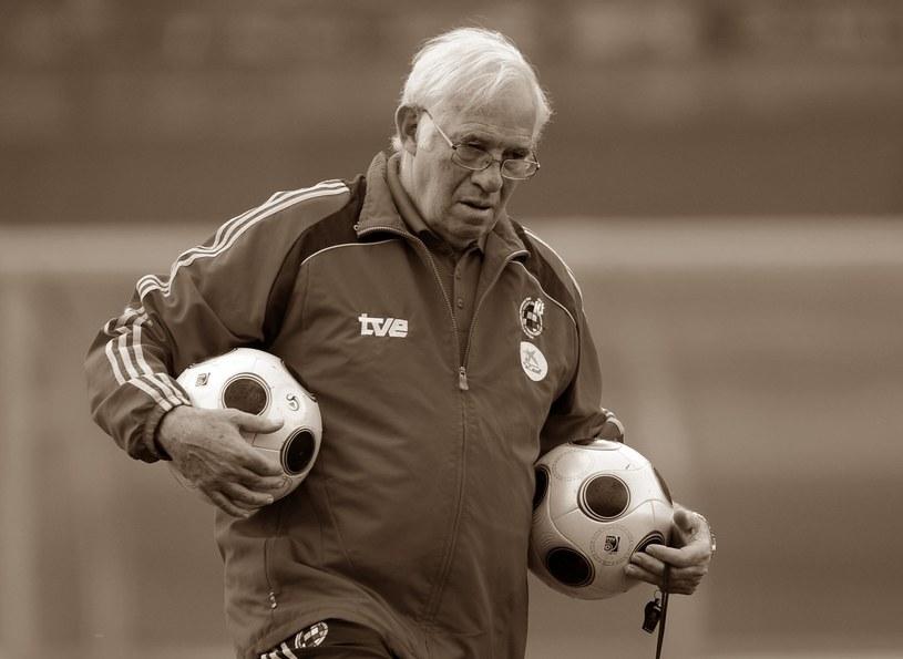 Nieodżałowany trener Luis Aragones. /AFP