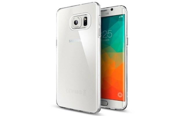 Nieoficjalna grafika ukazująca smartfon Galaxy S6 Edge Plus /materiały prasowe
