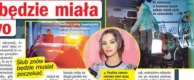 """Nieoficjalne informacje o terminie porodu Krupińskiej podał tygodnik """"Na Żywo"""" /Na żywo"""