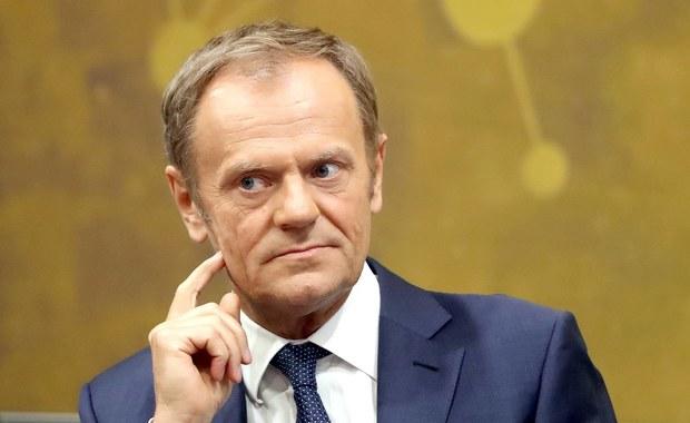 """Nieoficjalnie: Donald Tusk chce zaproponować """"elastyczne"""" wydłużenie brexitu"""