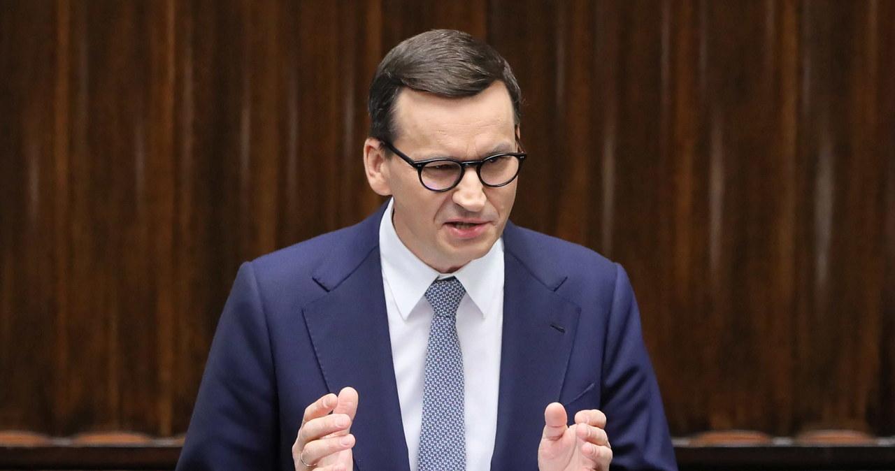 Nieoficjalnie: Morawiecki będzie apelował w PE o zachowanie niezależności państw członkowskich
