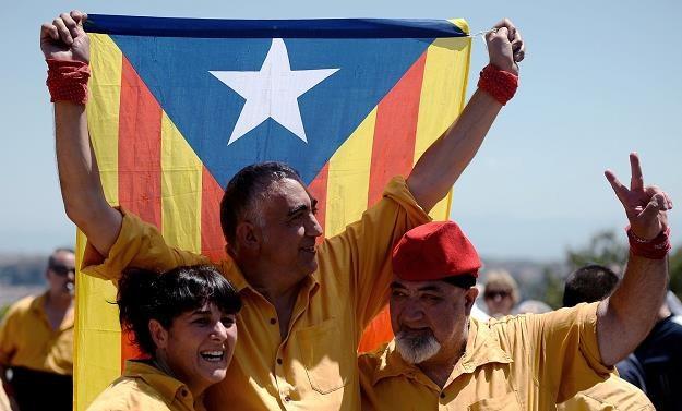 Niepodległość Katalonii oznacza wyjście z eurolandu... /AFP