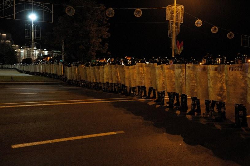 Niepokoje na Białorusi trwają od czasu wyborów prezydenckich, które zdaniem protestujących zostały sfałszowane. /Anna Ivanova /PAP/EPA