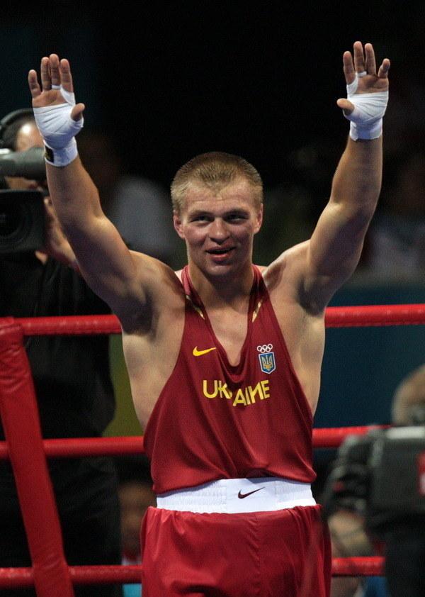 Niepokonany ukraiński pięściarz Wiaczesław Głazkow /AFP