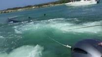 Niesamowita akcja ratunkowa u wybrzeży wyspy