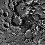 Niesamowita, ogromna i interaktywna mozaika północnego bieguna Księżyca