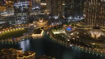 Niesamowita reklama na Burj Khalifa