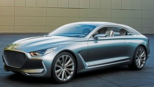Niesamowity Hyundai Vision G Concept Coupe