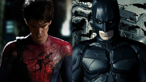 """""""Niesamowity Spider-Man"""" czy """"Mroczny Rycerz powstaje"""" - który film okaże się większym hitem? /materiały prasowe"""