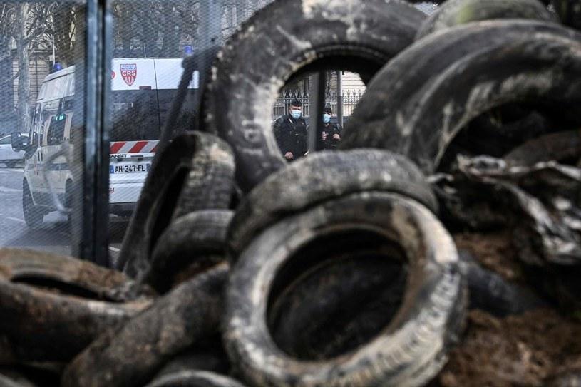 Niespokojnie w Lyonie /AFP