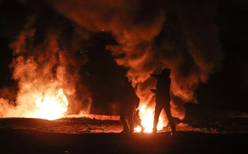 Niespokojnie w Strefie Gazy /AFP