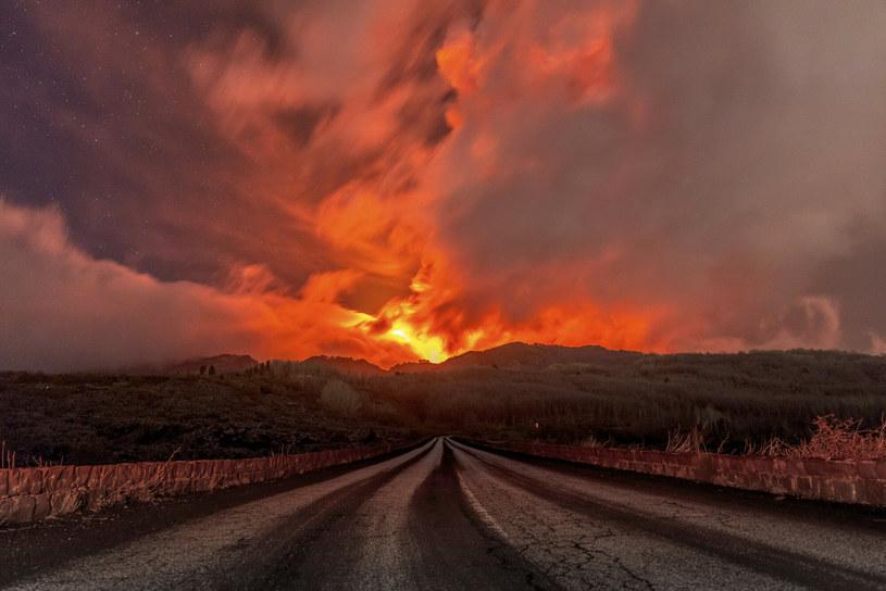 Niespokojny wulkan Etna (zdjęcie ilustracyjne) /Associated Press /East News