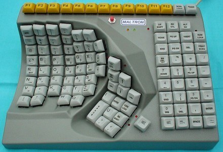 Niestandardowa klawiatura - to często ratunek dla niepełnosprawnych /PCArena.pl