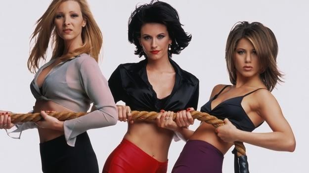 Niestety nie zobaczymy ponownie Lisy Kudrow, Courteney Cox i Jennifer Aniston razem /materiały prasowe