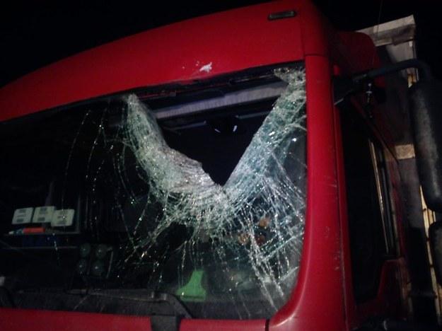Nieszczęśliwy wypadek na autostradzie A-4 /Policja