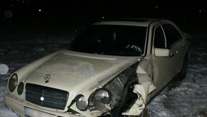 Nietrzeźwy kierowca mercedesa