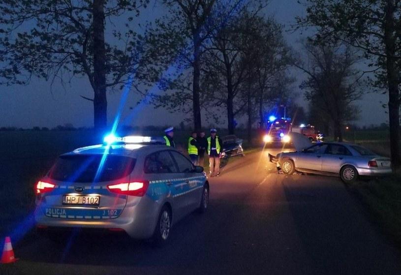 Nietrzeźwy kierowca uderzył w radiowóz /Policja