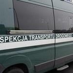 Nietypowa akcja inspektorów transportu drogowego