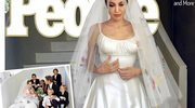 Nietypowa suknia ślubna Angeliny Jolie
