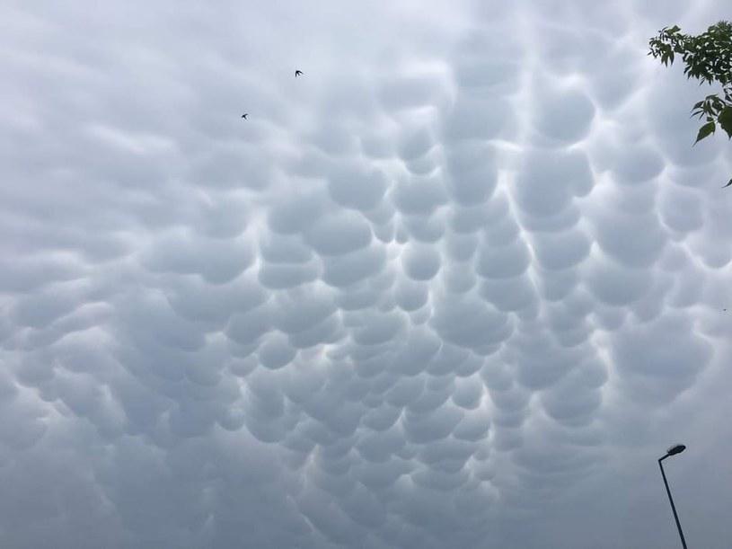 Nietypowe chmury były dziś widziane m.in. w Bochni /