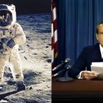 Nieudana misja Apollo 11: Przemówienie, którego nie było