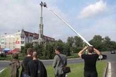 Nieudana próba odcięcia komunistycznego symbolu z pomnika w Stargardzie Szczecińskim