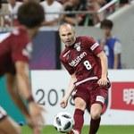 Nieudany debiut Andresa Iniesty w barwach Vissel Kobe