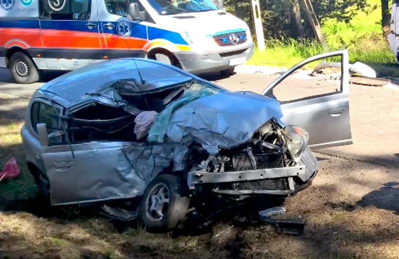 Niewiarygodne, że kierowcy nic się nie stało /Policja