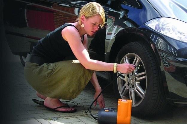Niewiele kobiet pamięta o kontroli ciśnienia w ogumieniu /