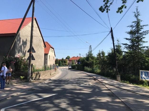 Niewielka miejscowość na Dolnym Śląsku - Mrowiny /Mateusz Czmiel /RMF FM