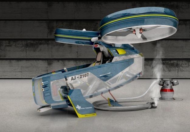 Niewielki, lekki i przede wszystkim latający - idealny pojazd przyszłości.   Fot. Alex Jantschke /Internet