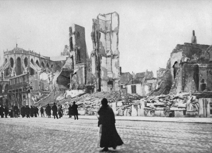 Niewielkie Louvain zostało zrównane z ziemią /Getty Images