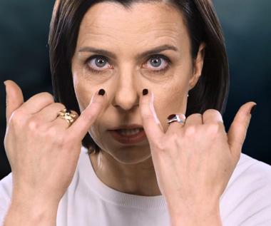 """""""Niewinne"""": Agata Kulesza bez makijażu [EPK]"""