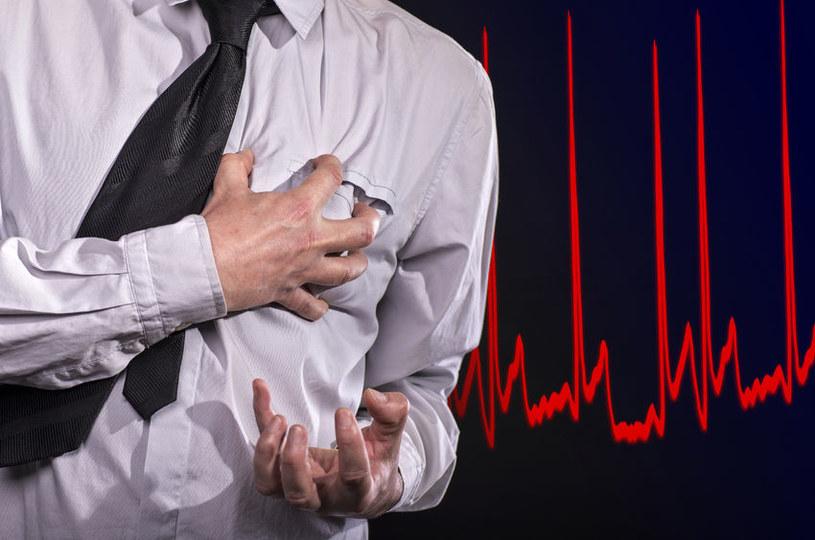 Niewydolność serca może doprowadzić do śmierci /123RF/PICSEL