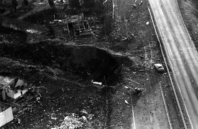 Niewyobrażalna skala zniszczeń spowodowanych przez spadające szczątki /East News