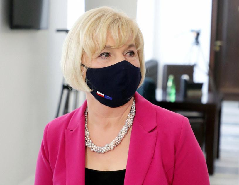 Niezależna senator Lidia Staroń nie została wybrana na nowego rzecznika praw obywatelskich /Piotr Molecki /East News