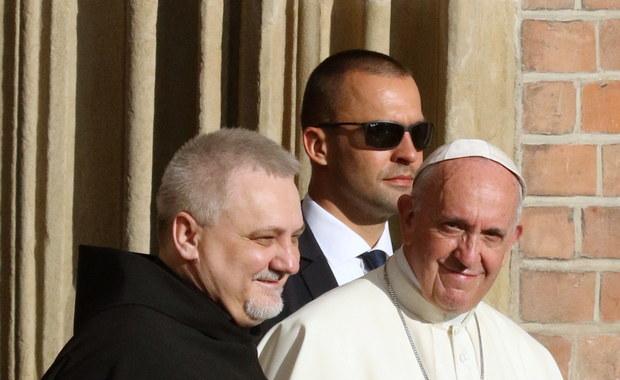 Niezaplanowana wizyta Franciszka u ojców franciszkanów
