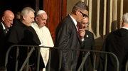 Niezapowiedziany punkt wizyty papieża. Spotkał się z rodzeństwem zamordowanych franciszkanów