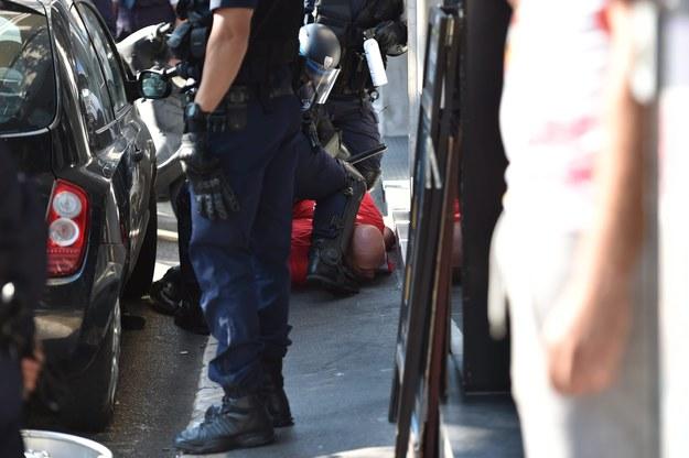 Niezbędna była interwencja policji /PETER POWELL   /PAP/EPA