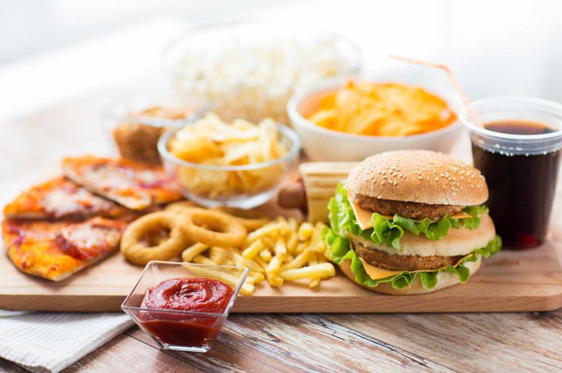 Niezdrowa dieta /©123RF/PICSEL